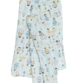 LOULOU LOLLIPOP Up Up Away Muslin Swaddle