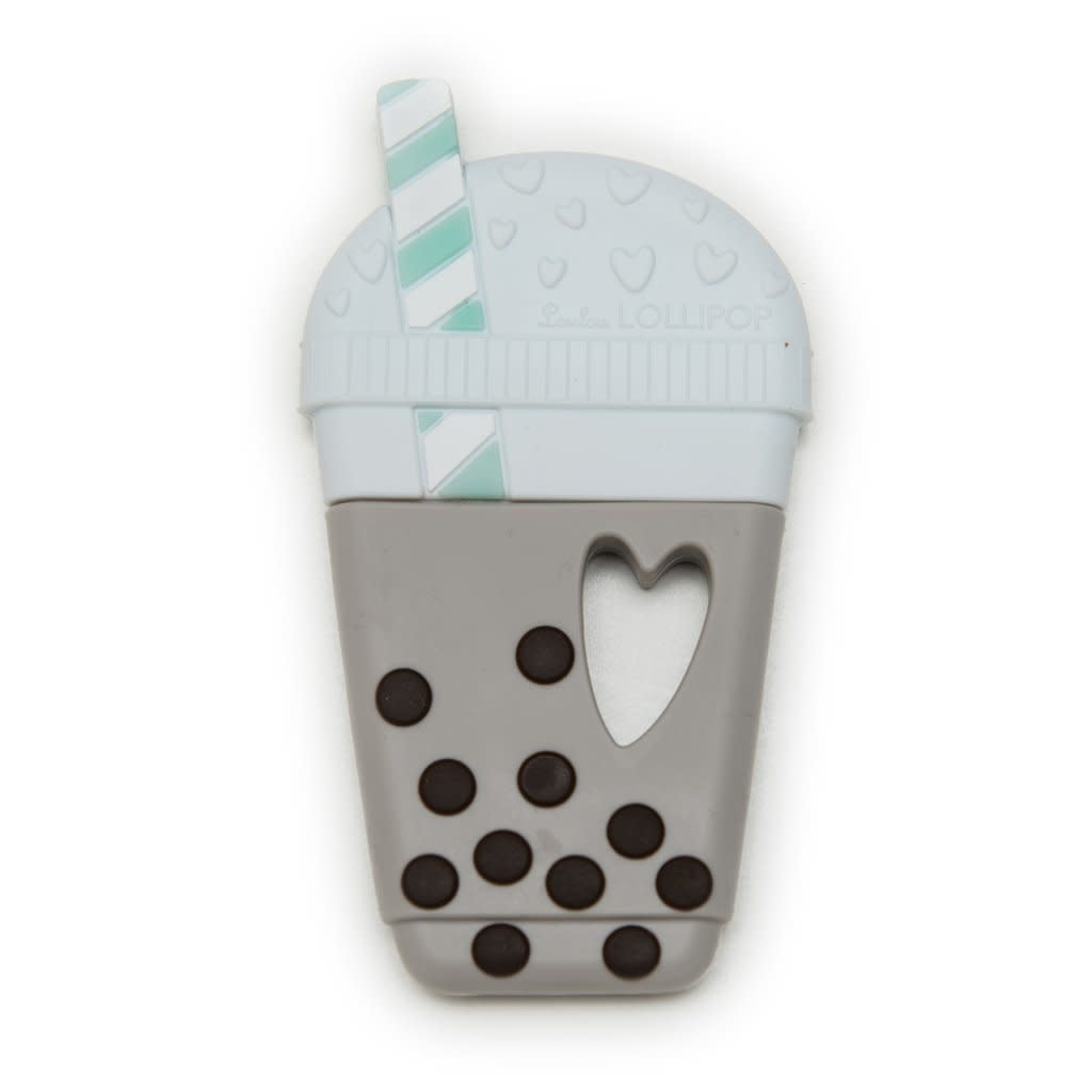 LOULOU LOLLIPOP Bubble Tea Silicone Teether