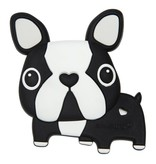 LOULOU LOLLIPOP Boston Terrier Silicone Teether