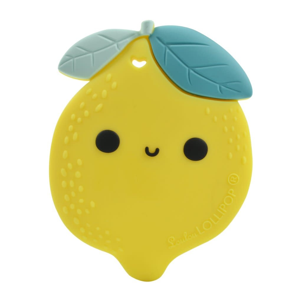 LOULOU LOLLIPOP Lemon Silicone Teether