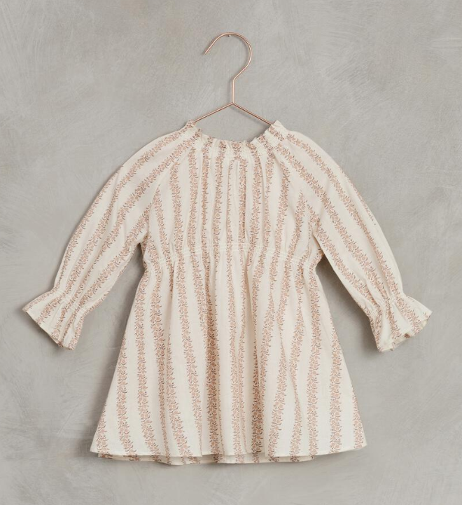 NORALEE Rose Striped Chloe Dress