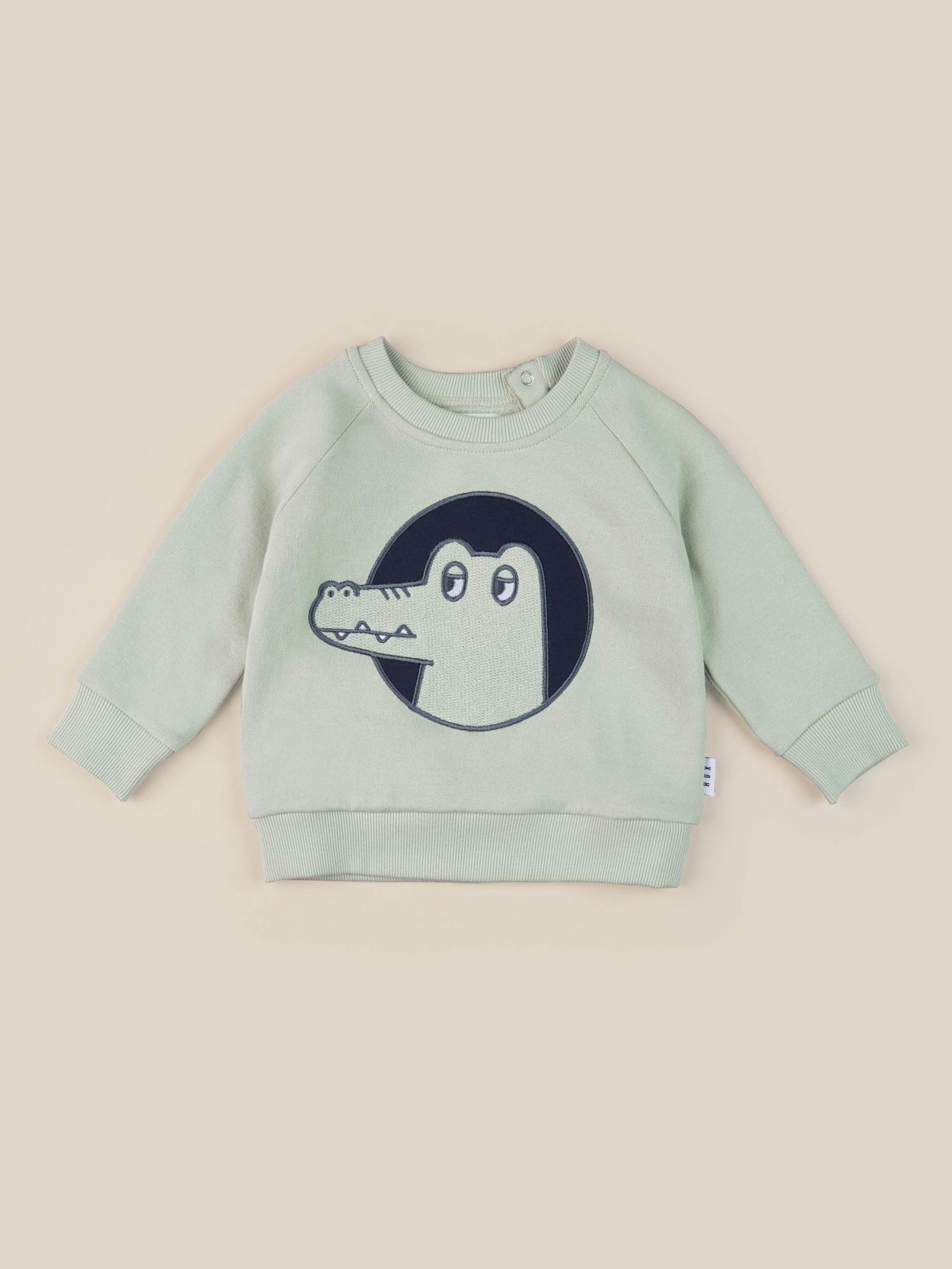 HUX BABY Croc-O-Gator Sewatshirt