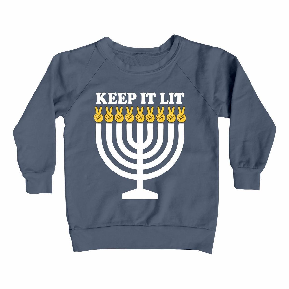 TINY WHALES Keep It Lit Sweatshirt