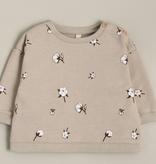 Organic Zoo Cotton Field Baby Sweatshirt
