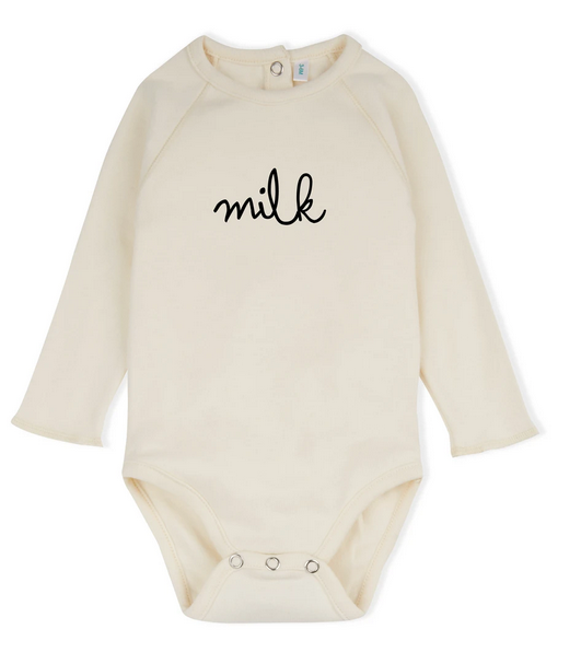 Organic Zoo Milk Bodysuit