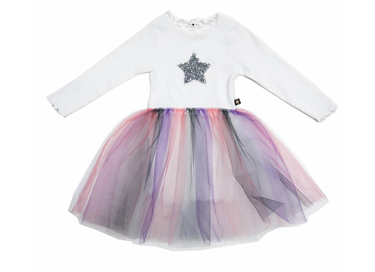 PETITE HAILEY 3 Color Tutu Dress