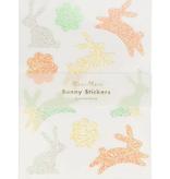 Glitter Bunny Sticker Sheets