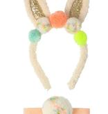 Pompom Bunny Ear Dress Up