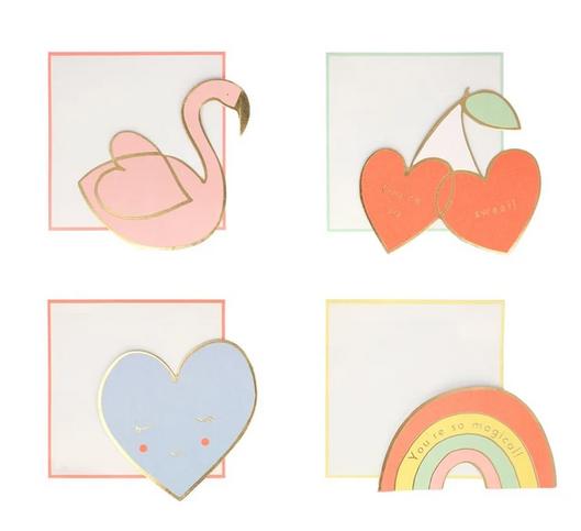 Valentine Friendship Card Set