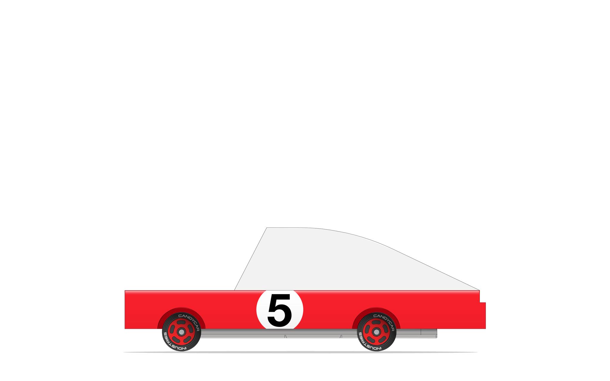 CANDYLAB Red Racer #5