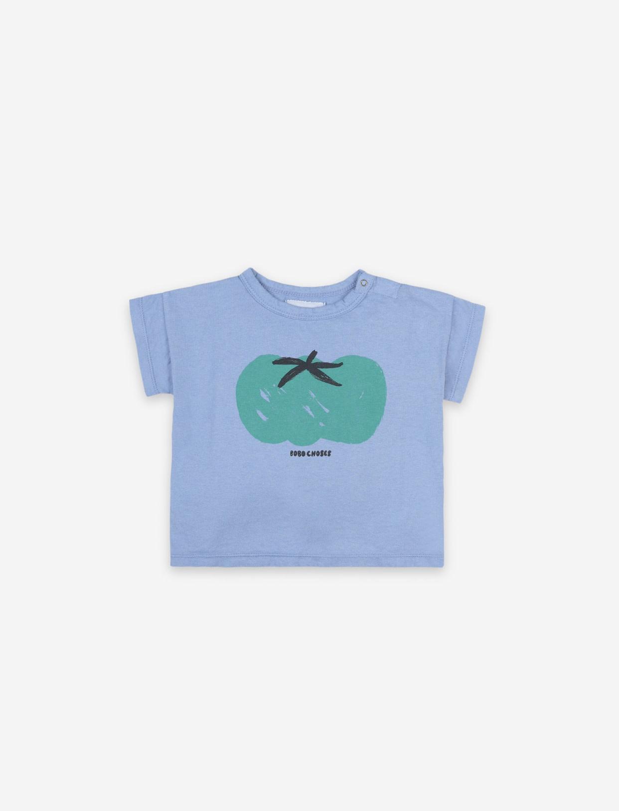 BOBO CHOSES Tomato Short Sleeve Baby T-Shirt