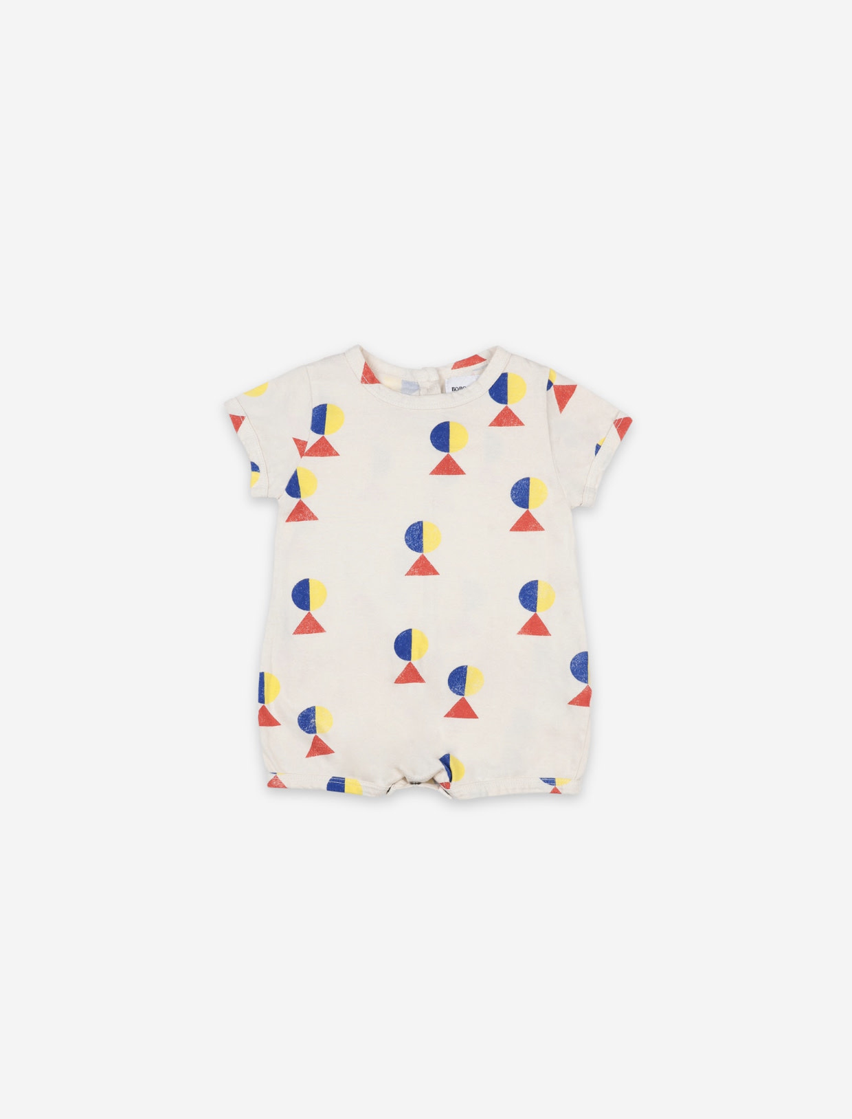 BOBO CHOSES Geometric All Over Baby Playsuit