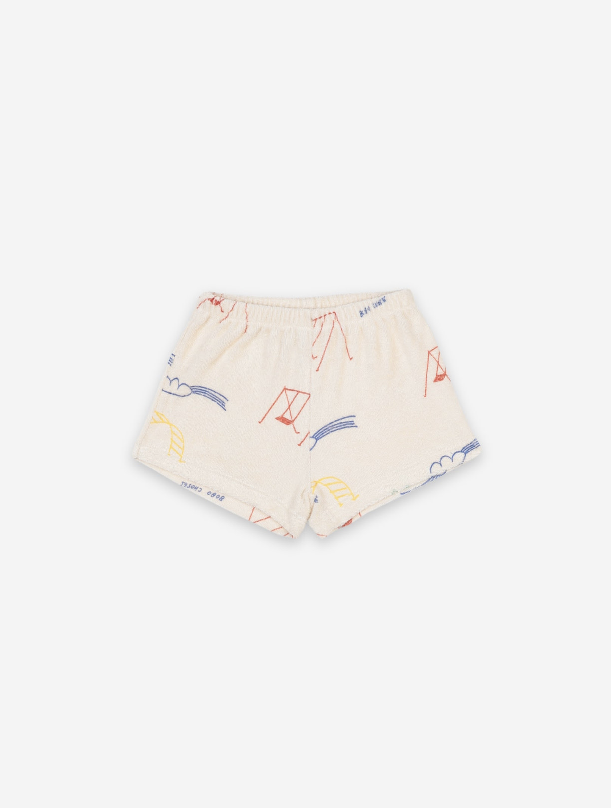 BOBO CHOSES Playground All Over  Baby Shorts