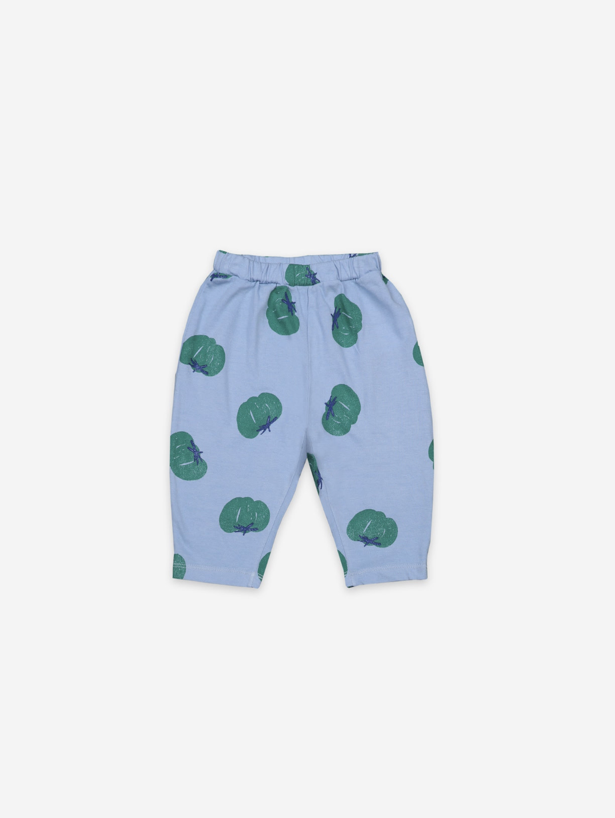 BOBO CHOSES Tomatoes All Over Jersey Baby Trouser