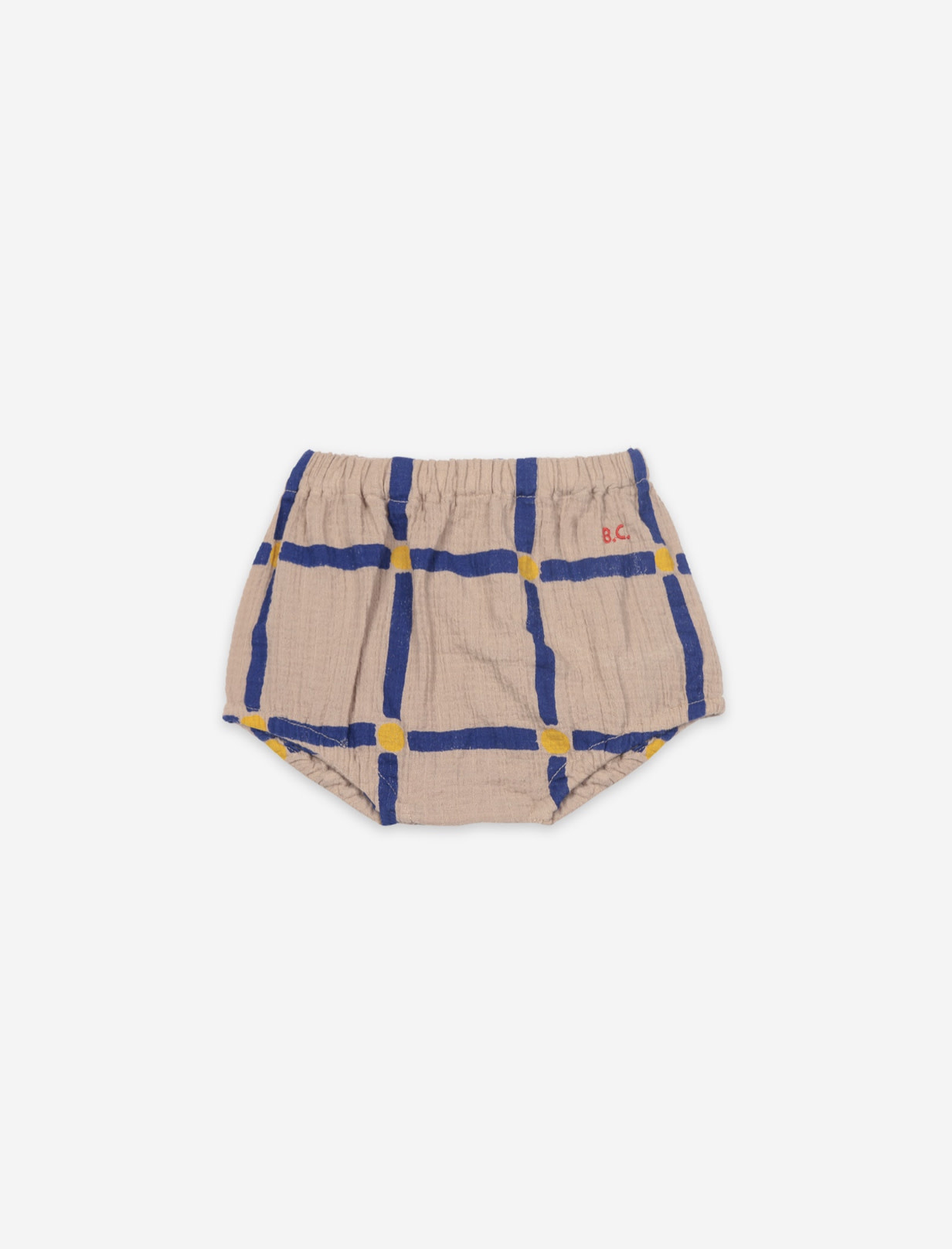 BOBO CHOSES Cube All Over Woven Baby Bloomer