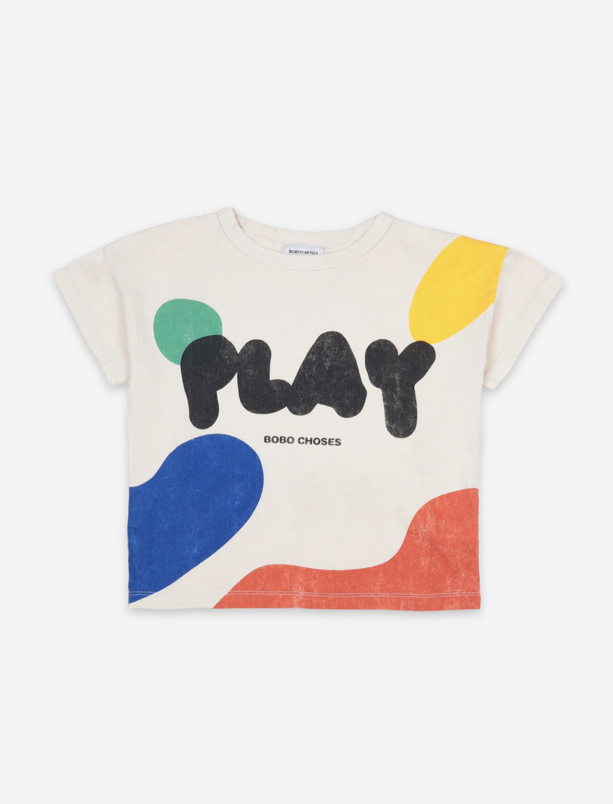 BOBO CHOSES Play Landscape Short Sleeve Tshirt