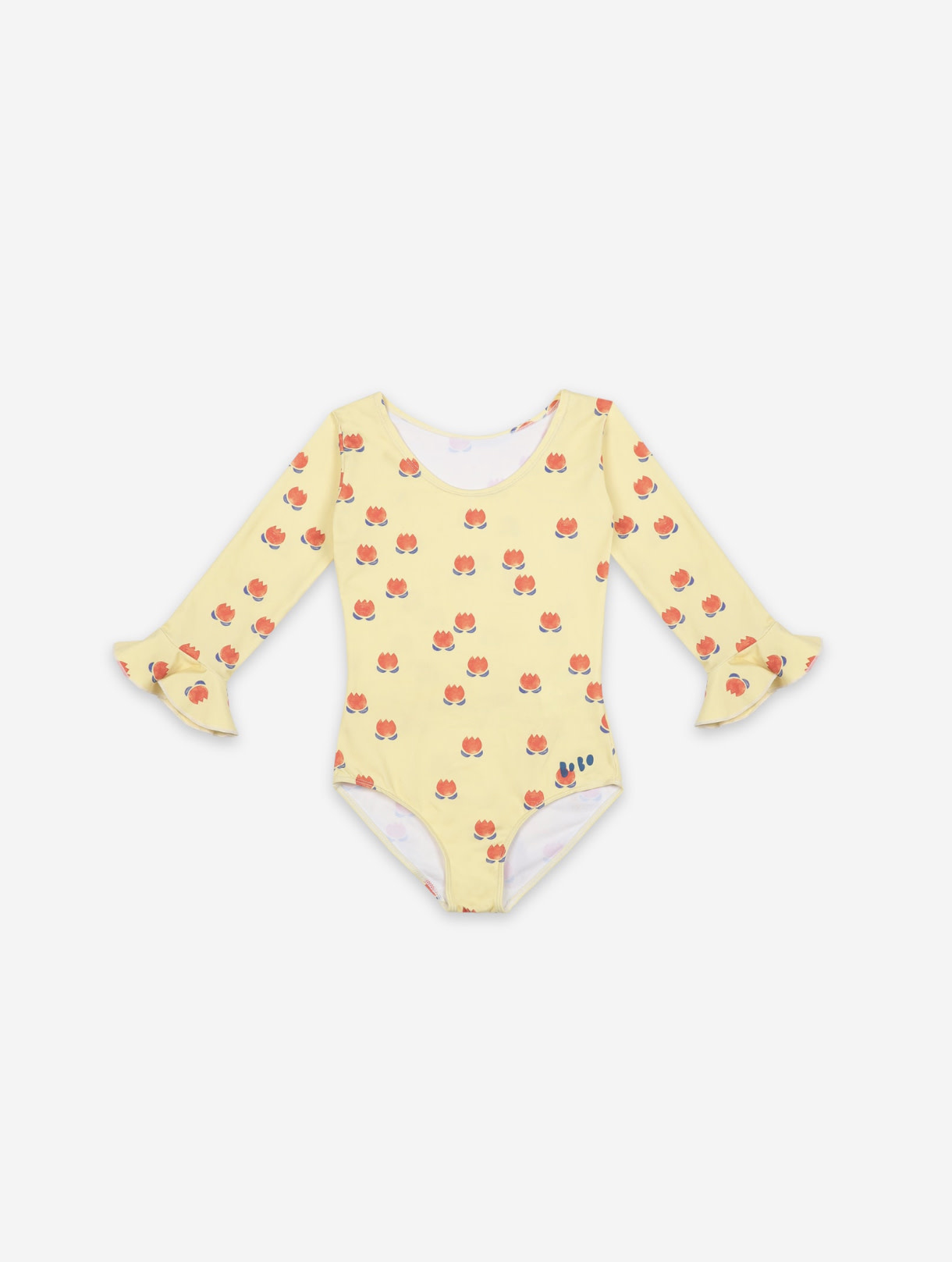 BOBO CHOSES Chocolate Flowers All Over Swimsuit