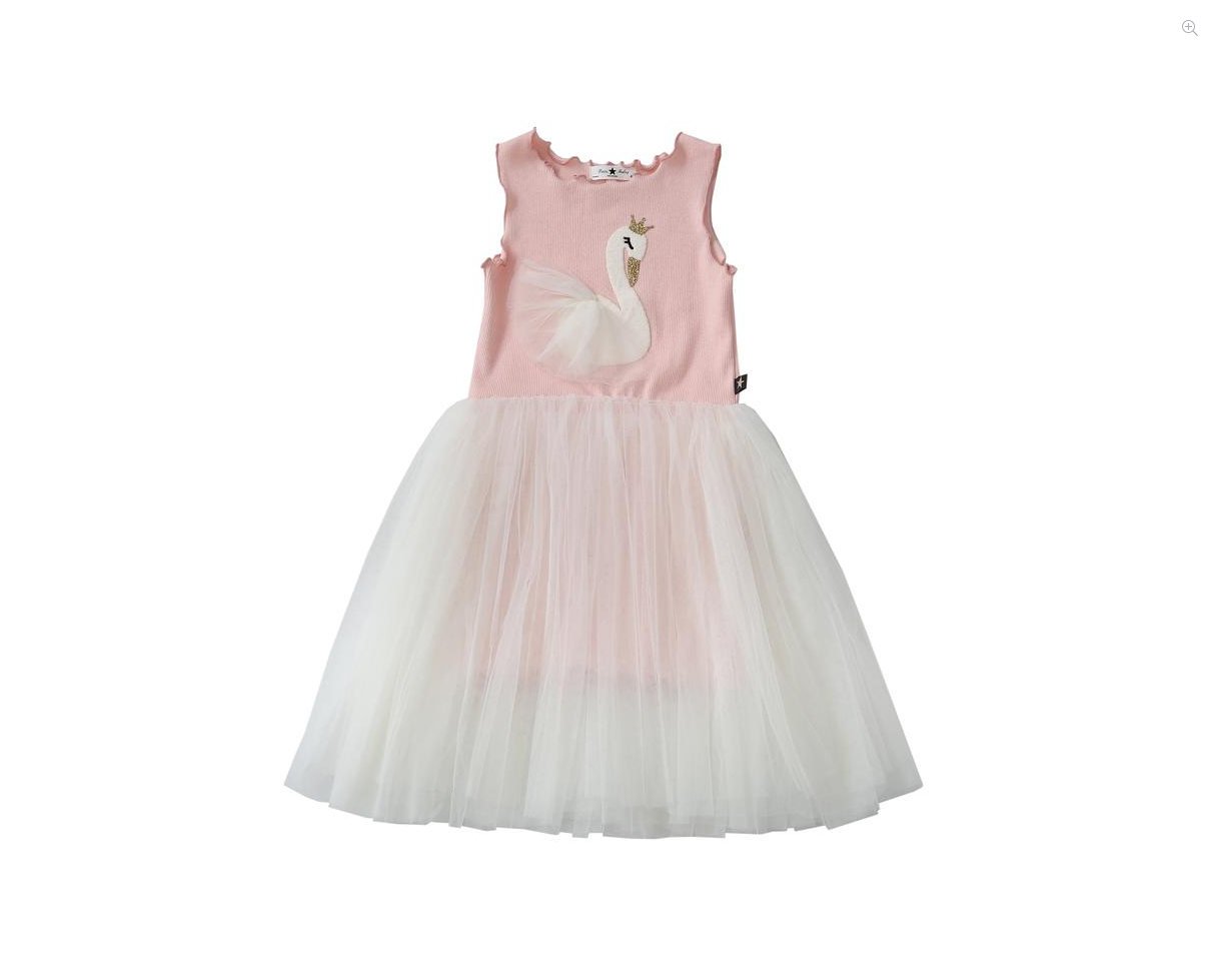 PETITE HAILEY Swan Tutu Dress