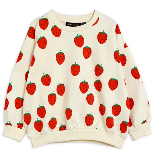MINI RODINI Strawberry Sweatshirt