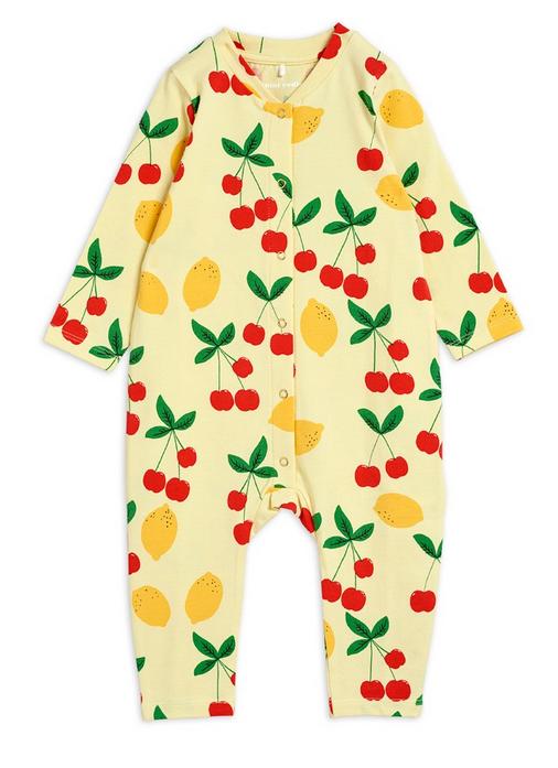 MINI RODINI Cherry Lemonade Jumpsuit