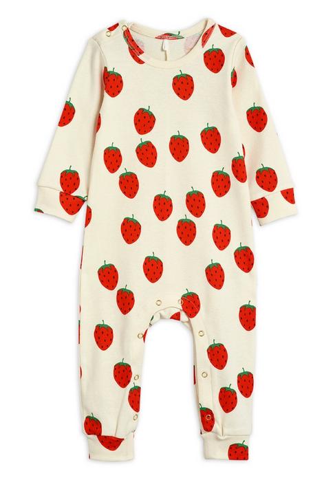 MINI RODINI Strawberry Jumpsuit