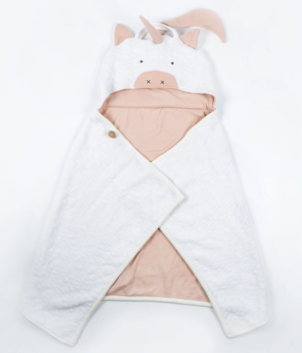 Zestt Organics Organic Cotton Kids Travel Blanket - Unicorn