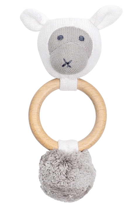 Zestt Organics Sheep Rattle