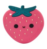 LOULOU LOLLIPOP Strawberry Teether