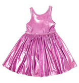 PINK CHICKEN Liza Lame Dress