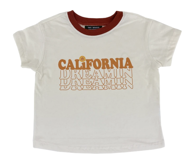 TINY WHALES California Dreamin Tee
