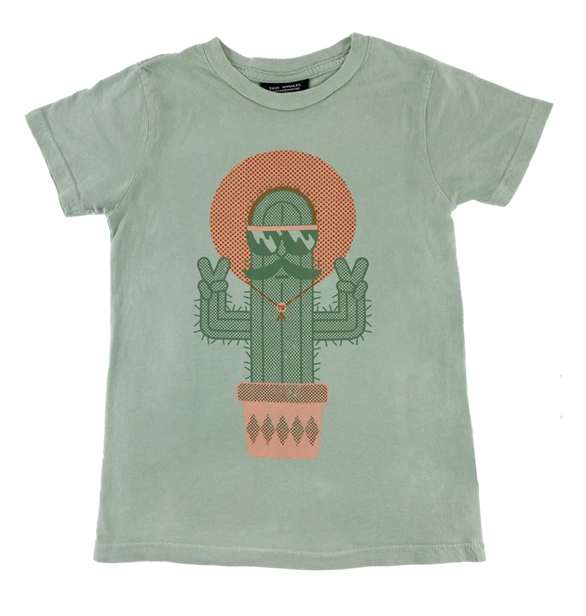 TINY WHALES Cool Cactus Tee