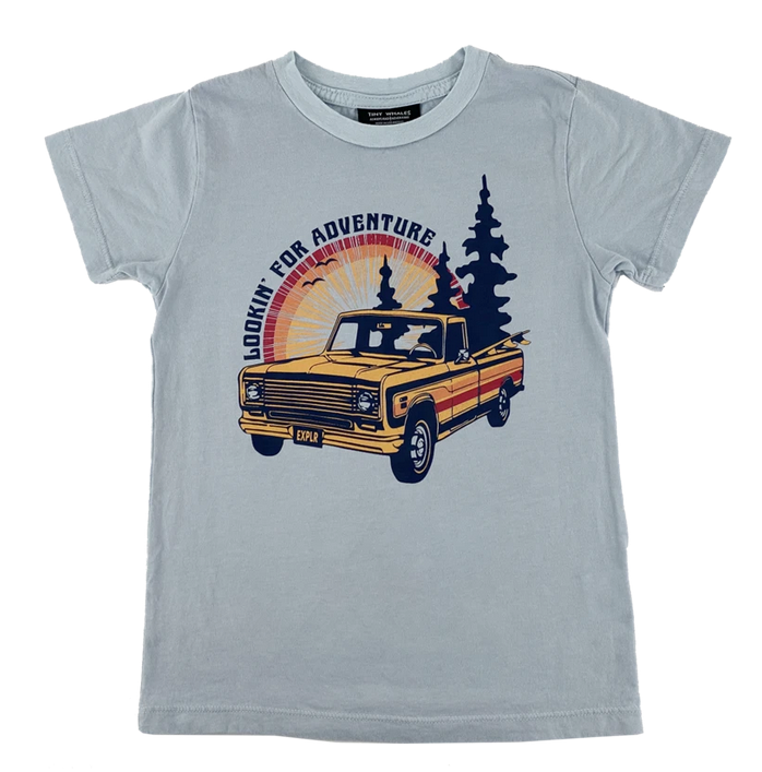 TINY WHALES Lookin' For Adventure Tee