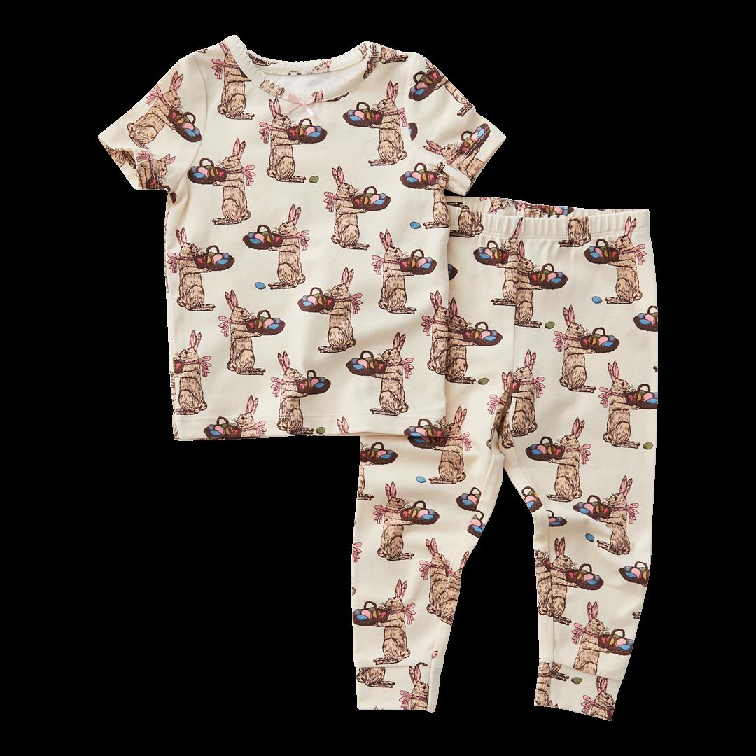 PINK CHICKEN Baby Spring Pajama Set