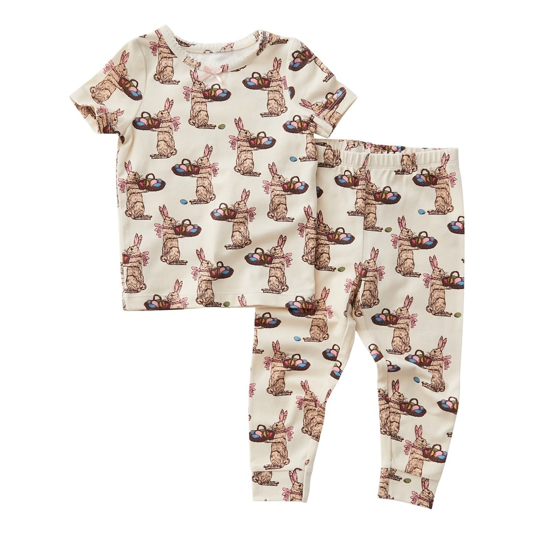 PINK CHICKEN Spring Pajama Set