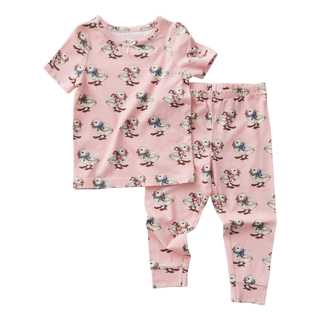 PINK CHICKEN Baby Spring Pajama Set