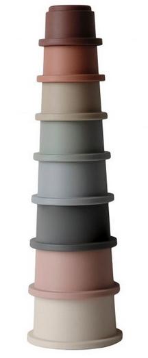 MUSHIE Stacking Cups Toy - Original