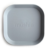MUSHIE Set Of 2 Square Dinnerware Plates - Cloud