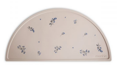MUSHIE Silicone Place Mat - Lilac Flowers