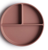 MUSHIE Silicone Suction Plate - Cloudy Mauve