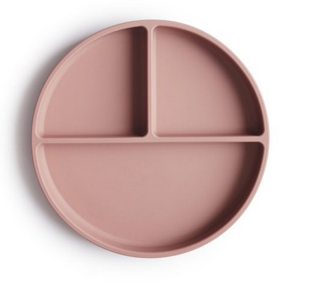 MUSHIE Silicone Suction Plate - Blush
