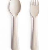 MUSHIE Fork And Spoon Set - Ivory