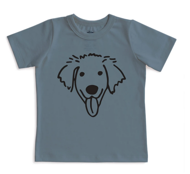 WINTER WATER FACTORY Dog Short Sleeve Tee