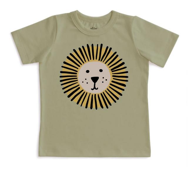 WINTER WATER FACTORY Lion Short Sleeve Tee