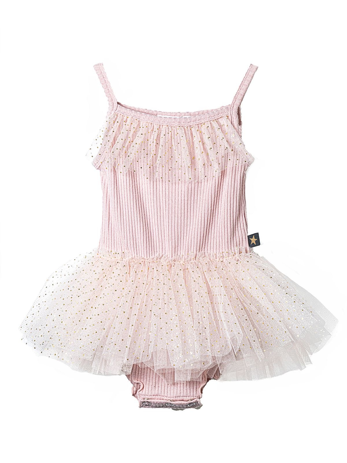 PETITE HAILEY Dot Amy Baby Onesie Tutu