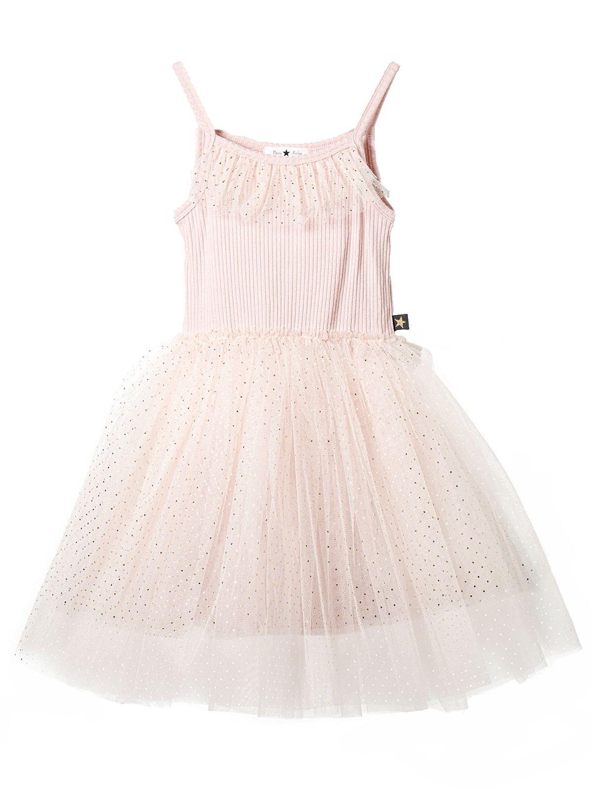 PETITE HAILEY Dot Amy Tutu Dress