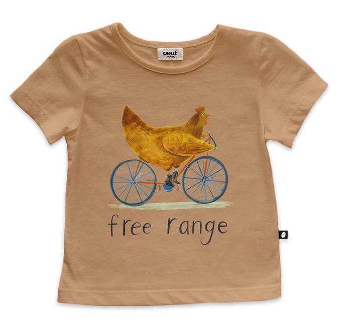 OEUF Free Range Tee Shirt