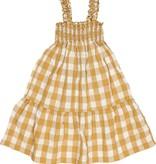 BUHO Gingham Seersucker Dress