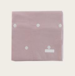 JAMIE KAY Old Rose Polka Dot Blanket