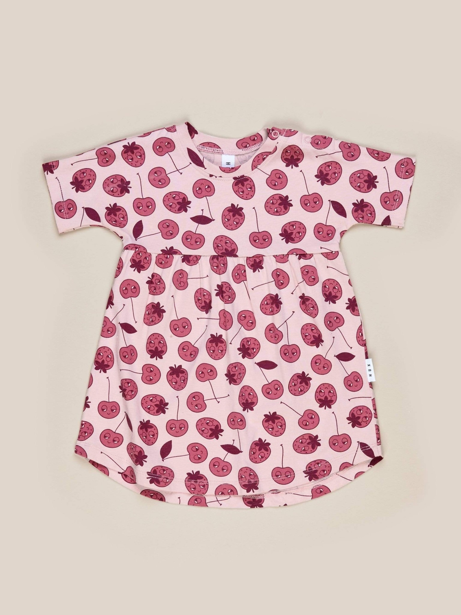 HUX BABY Berry Swirl Dress