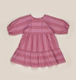 HUX BABY Stripe Tiered Dress